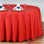 "Econoline Red 132"" Round Tablecloth"