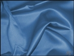 "108""X132"" Oval Matte Satin/Lamour Table Cloths - Cobalt"