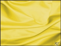"108""X132"" Oval Matte Satin/Lamour Table Cloths - Lemon"