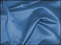 "108""X156"" Oval Matte Satin/Lamour Table Cloths - COBALT"