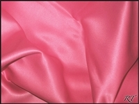 "108""X156"" Oval Matte Satin/Lamour Table Cloths - WATERMELON"