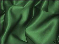 "120"" Round Matte Satin/Lamour Table Cloths - Hunter"