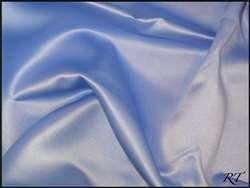 "120"" Round Matte Satin/Lamour Table Cloths - Periwinkle"