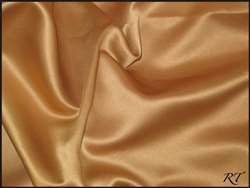 "108""X156"" Oval Matte Satin/Lamour Table Cloths - Antique Gold"