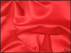 "108""X156"" Oval Matte Satin/Lamour Table Cloths - Red"