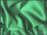 "132"" Round Matte Satin/Lamour Table Cloths - Emerald"