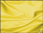 "132"" Round Matte Satin/Lamour Table Cloths - Lemon"