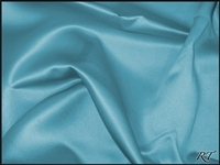 "132"" Round Matte Satin/Lamour Table Cloths - Turquoise"
