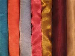 "Satin Dupioni Sample Kit - 39 Colors of 20""x20"" Napkins"