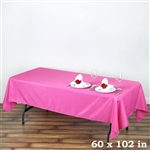 Econoline Fushia Tablecloth 60x102""