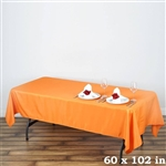 Econoline Orange Tablecloth 60x102""