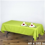 Econoline Sage Tablecloth 60x102""