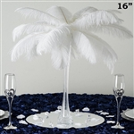 "12/Set 16"" Eiffel Tower Vases (Clear)"