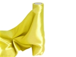 "Satin Fabric Bolts -  12"" x 10Yards - Yellow"