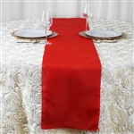 Table Runner (Polyester) - Red