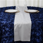 Table Runner (Polyester) - Silver