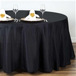 "Econoline Black 132"" Round Tablecloth"