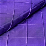 "54"" x 10"" Purple Yards Pintuck Fabric Bolt Wedding Drape Panel Dress Stage Décor"