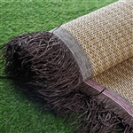 "54"" x 4 Yards Premium Raffia Picnic Party Upholstery Fabric Bolt - Natural"