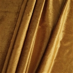 "65"" x 5 Yards Velvet Fabric Bolt Roll - Gold"