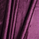 "65"" x 5 Yards Velvet Fabric Bolt Roll - Purple"