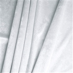 "65"" x 5 Yards Velvet Fabric Bolt Roll - White"