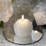 This is Our Moment Special Candle Ball - White