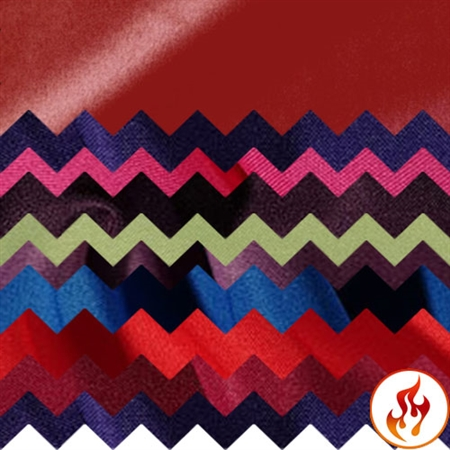 Flame Retardant Polyester Swatch Card