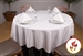 "Rental Flame Retardant 90"" x 90"" Square Polyester Tablecloth"
