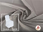Rental Flame Retardant Folding Polyester Chair Cover