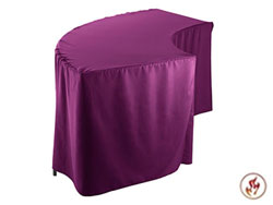 FR Serpentine Polyester Tablecloth (4830 model)