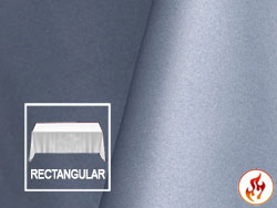 "Fire Retardant 90"" x 156"" Satin Lamour Rectangle Tablecloth"