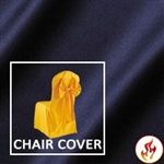 Fire Retardant Satin Lamour Chair Cover (Banquet)