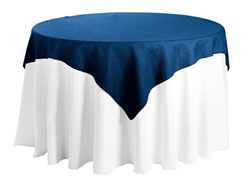 "Faux Burlap 58""x58"" Square Tablecloth"
