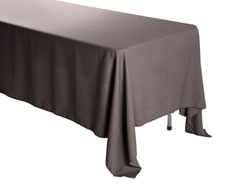 "Premium Faux Burlap 72""x120"" Rectangular Tablecloth"