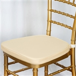"Tables and Seating Chiavari Chair Cushion - IVory 1.75"" Thick"