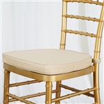 "Tables and Seating Chiavari Chair Cushion - Champagne 1.75"" Thick"