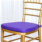 "Tables and Seating Chiavari Chair Cushion - Light Purple 1.75"" Thick"