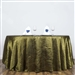 "Willow 117"" Crinkle Taffeta Round Tablecloth"