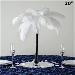 "12/Set 20"" Eiffel Tower Vases (Black)"