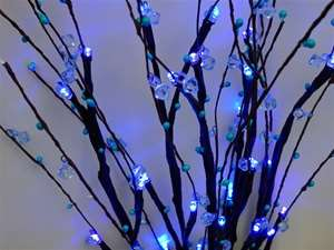 4 x Fairytale Bush LEDs - Extra Blue