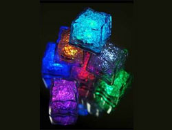 Vibrant Submersible Recreation Lights Ice Cube LED  Assorted