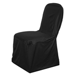 Stretch Scuba Chair Covers - Black
