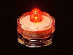 Brilliant Submersible Vase Lights  LED 12/pk  Red