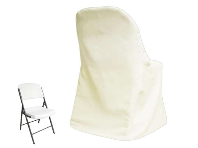 Marvelous Chair Cover Folding Lifetime Ivory Gmtry Best Dining Table And Chair Ideas Images Gmtryco