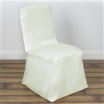 Square Banquet / Chivari Chair Cover - Ivory