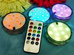 4 Pack Fairy Nest LED Vase Lights – Remote-Controlled (Assorted Colors)