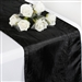 Crinkle Taffeta Table Runner - Black