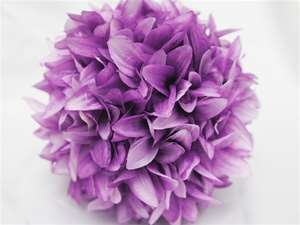 4 x ALWAYS CLOUD 9 Kissing Balls - Lavender Dahlias