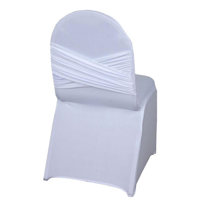Astounding Madrid Banquet Chair Cover White Frankydiablos Diy Chair Ideas Frankydiabloscom
